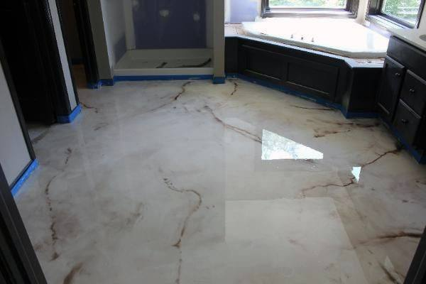 Painting Concrete Floors To Look Like Marble Mycoffeepot Org
