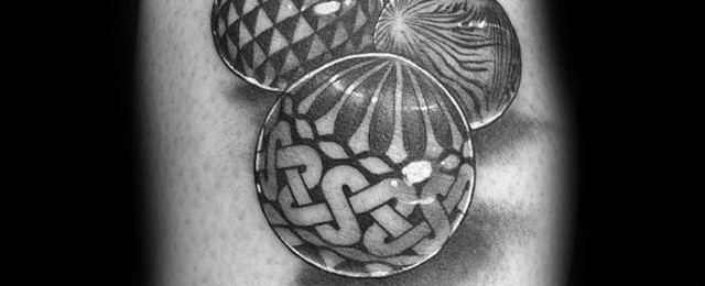 Marble Tattoo Designs For Men