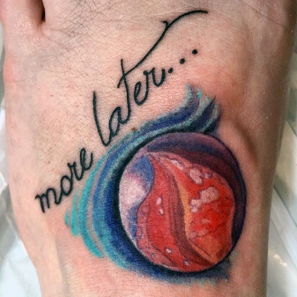 Marble Tattoo Inspiration For Men