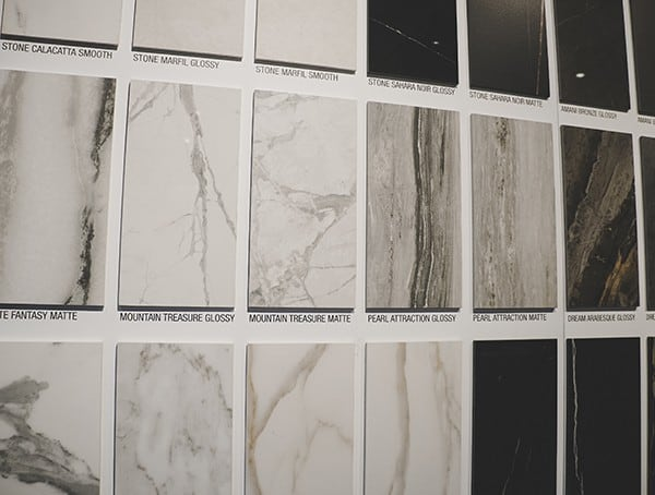 Marble Tile Wall Display 2019 Nahb Show