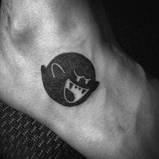 Mario Ghost Tattoo Inspiration For Men