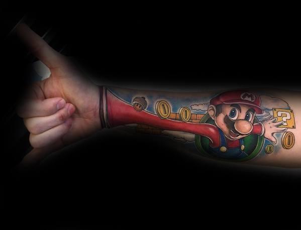 Mario Guys Tattoo Designs