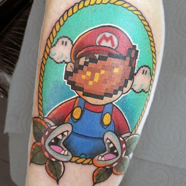 Mario Male Tattoos
