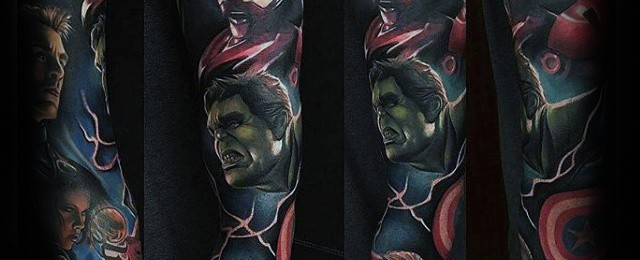 Marvel Tattoos For Men
