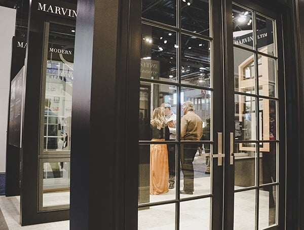 Marvin French Glass Doors 2019 Nahb Show