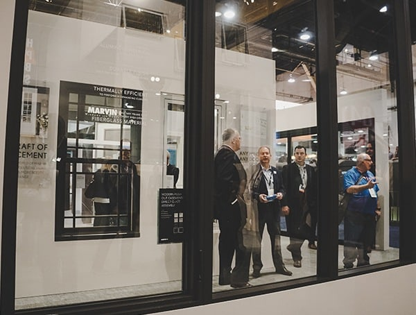 Marvin Modern Sliding Glass Panel Doors 2019 Nahb Show