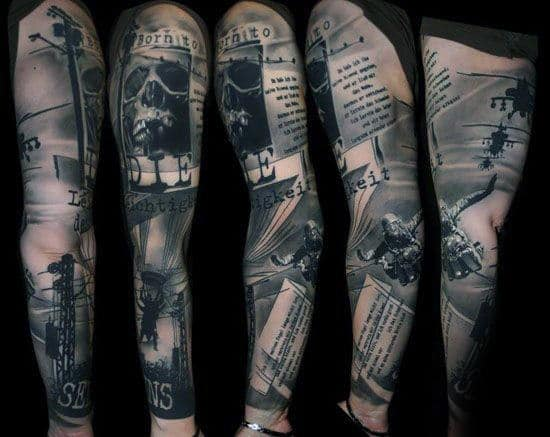 30 Airborne Tattoos For Men - Military Ink Design Ideas