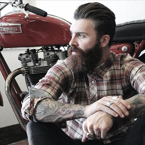 Masculine Awesome Beard Styles For Guys