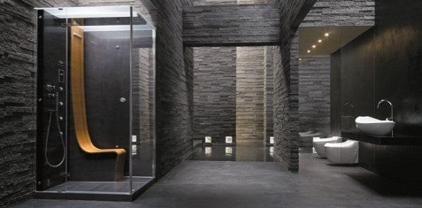 Masculine Bathroom Ideas For Men