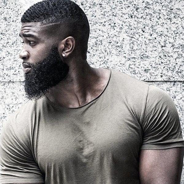 Masculine Beard Style Ideas For Black Men