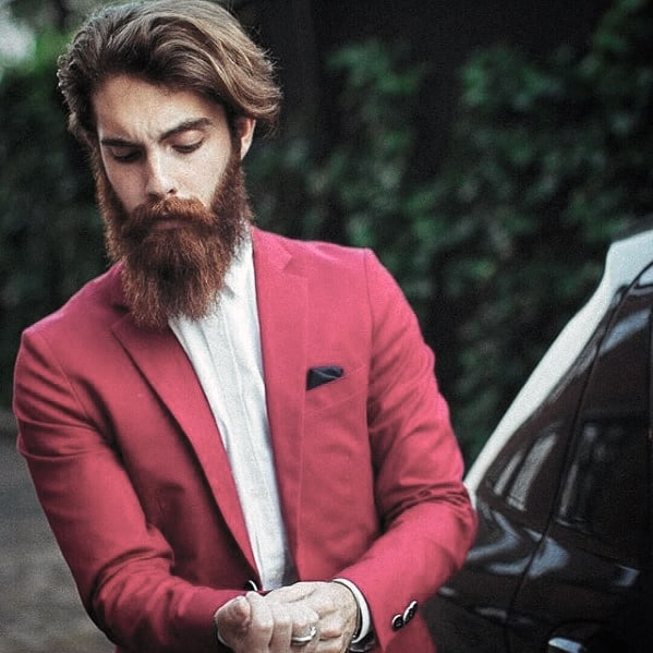 Masculine Big Beard Styles For Guys