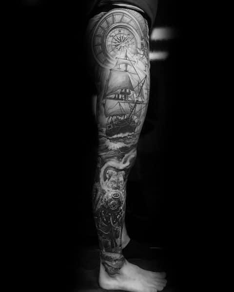 Masculine Big Tattoos For Men