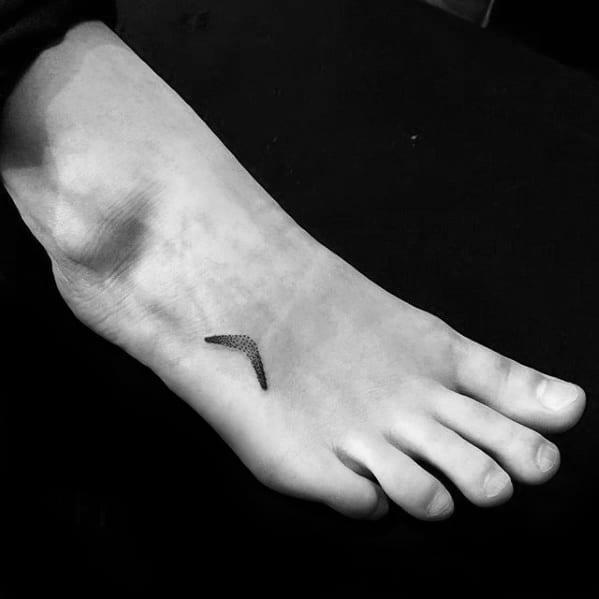 Masculine Boomerang Tattoos For Men
