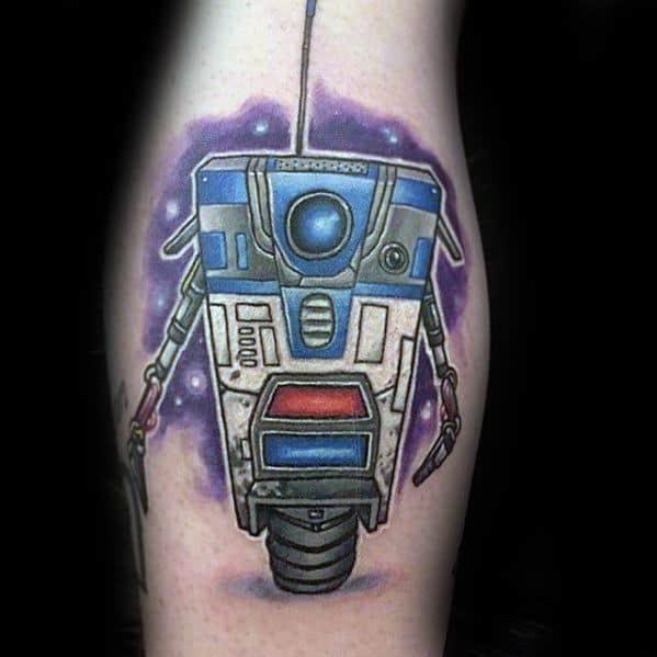 Masculine Borderlands Tattoos For Men