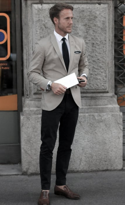 Masculine Business Casual Outfits Style Ideas For Men