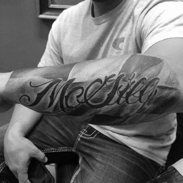 Masculine Checkered Flag Tattoos For Men