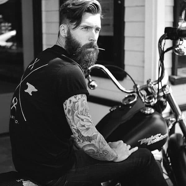 Masculine Classic Mens Hair