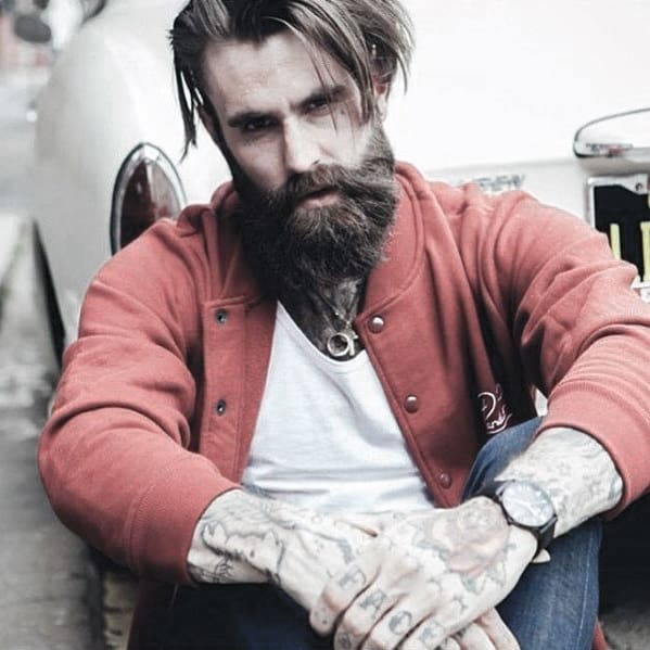 Masculine Cool Beard Inspiration Styles For Gentlemen
