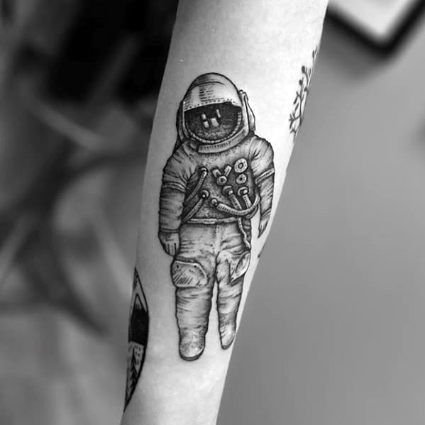 Masculine Deja Entendu Tattoos For Men