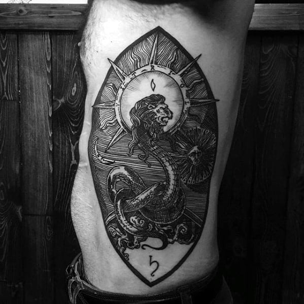 Masculine Esoteric Tattoos For Men