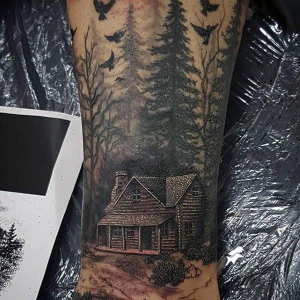 Masculine Evil Dead Tattoos For Men