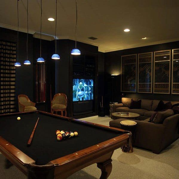 Home Theater Design And Ideas: 50 Gaming Man Cave Design Ideas For Men