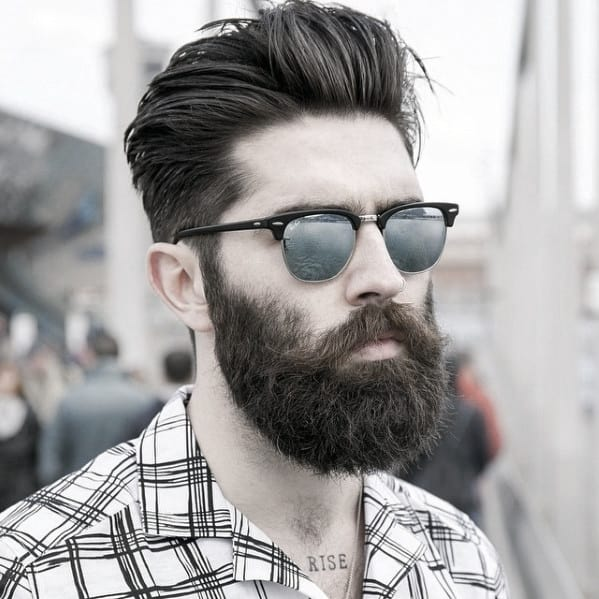 Masculine Great Beard Inspiration Styles For Gentlemen