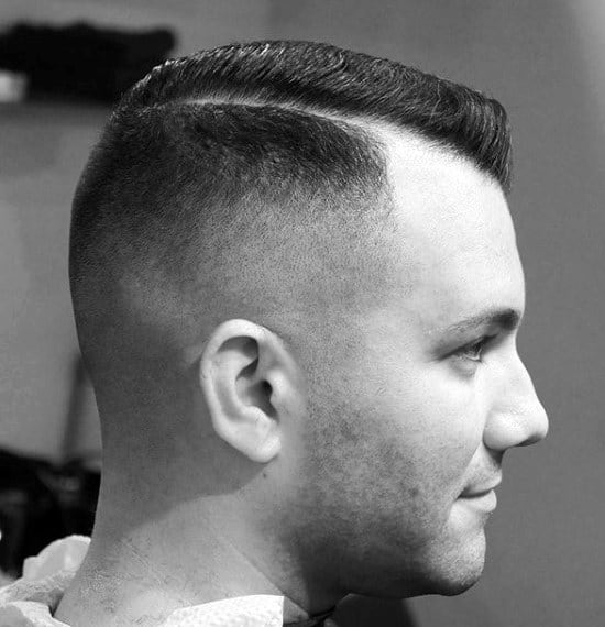 Masculine Guys Comb Over Hairstyles