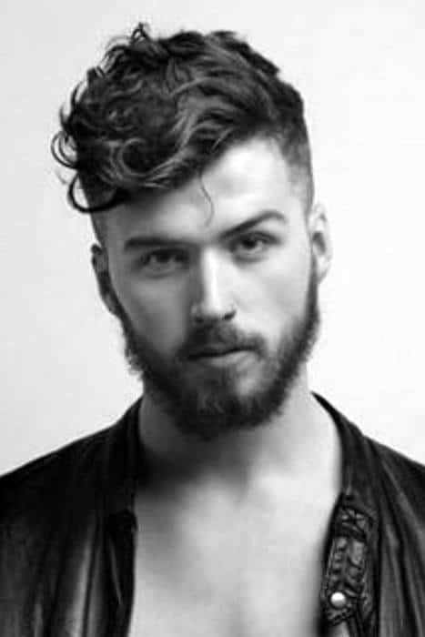 Super 25 Curly Fade Haircuts For Men Manly Semi Fro Hairstyles Hairstyles For Women Draintrainus