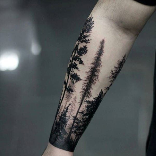 Forearm Tattoos: 60 Forearm Tree Tattoo Designs For Men
