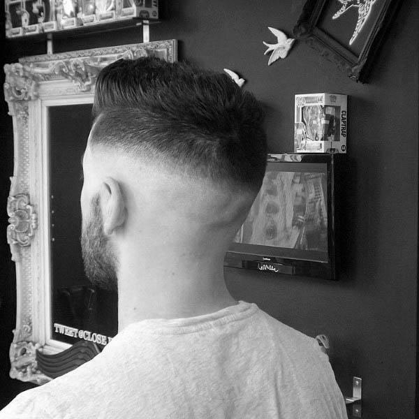 Masculine Guys High Fade Haircuts