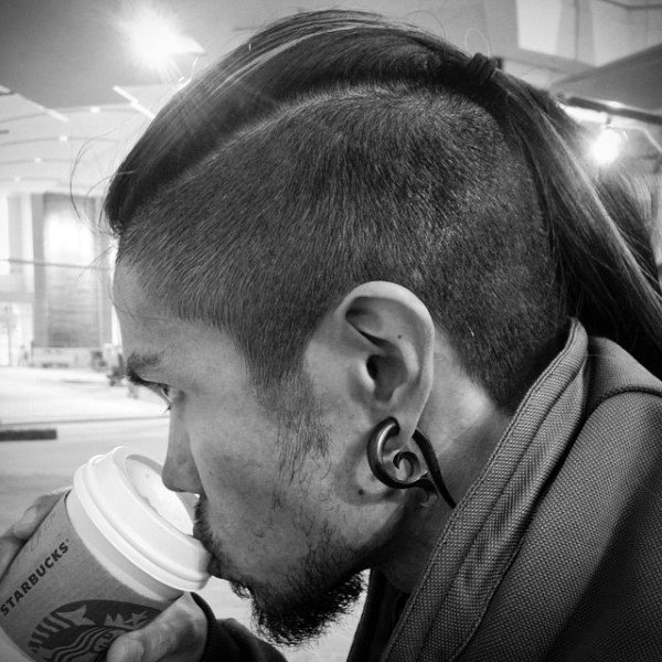 Masculine Guys Long Undercut Hairstyle Ideas