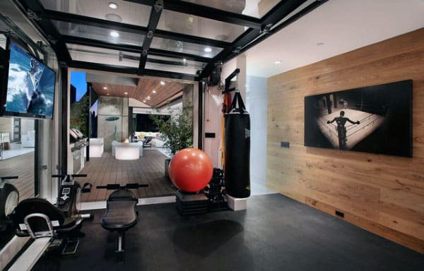 Exceptionnel Masculine Home Gyms