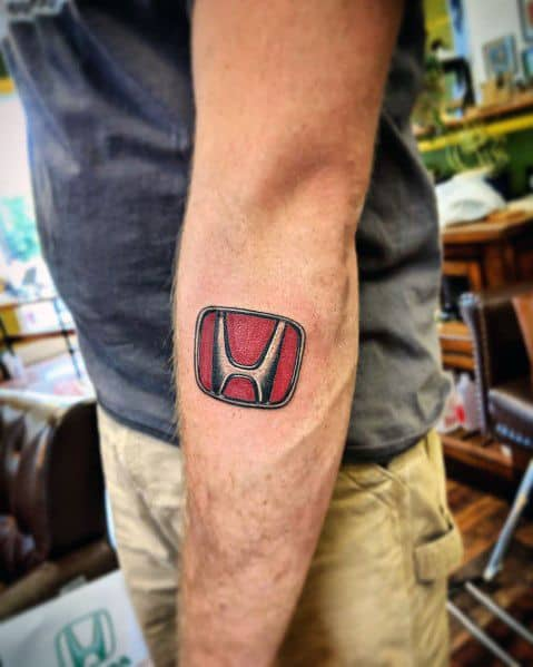 Masculine Honda Tattoos For Men