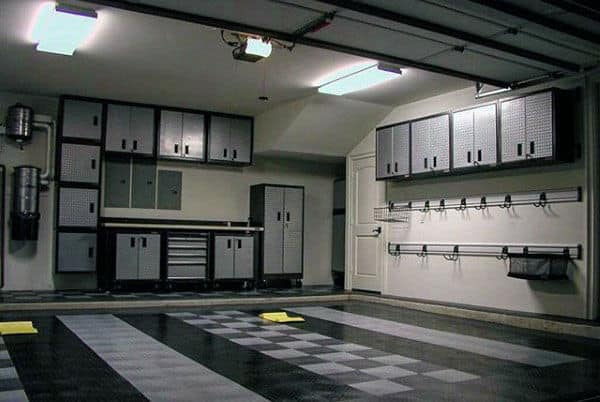 Masculine Ideas For Garage Organization