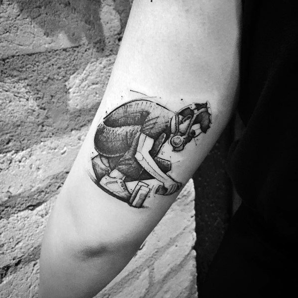 Masculine Linkin Park Tattoos For Men