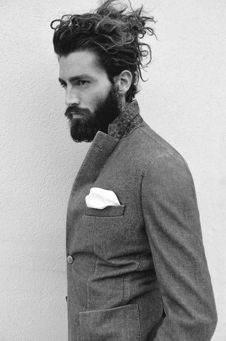 Masculine Long Hairstyles For Men