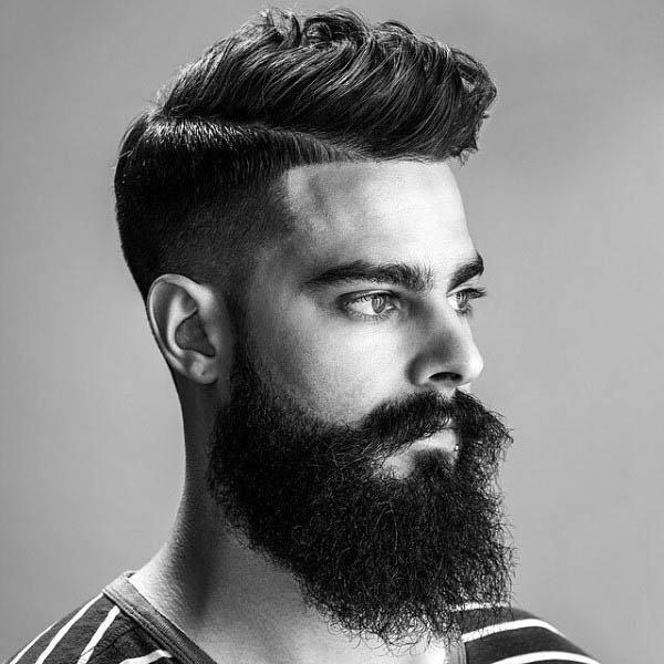 Masculine Low Temp Fade Haircut For Guys