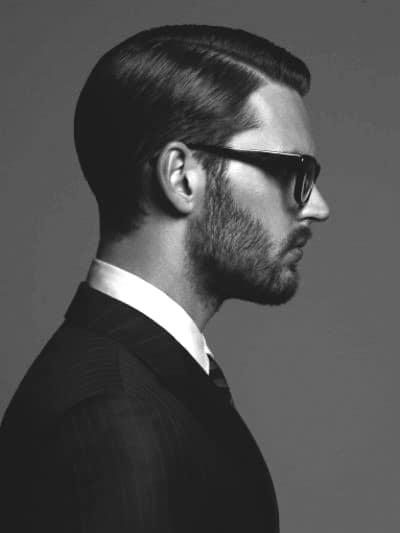 Masculine Male Business Hairstyles