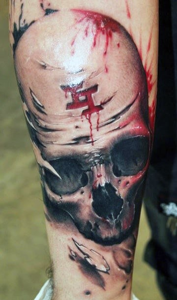 Masculine Manly 3D Tattoos For Men