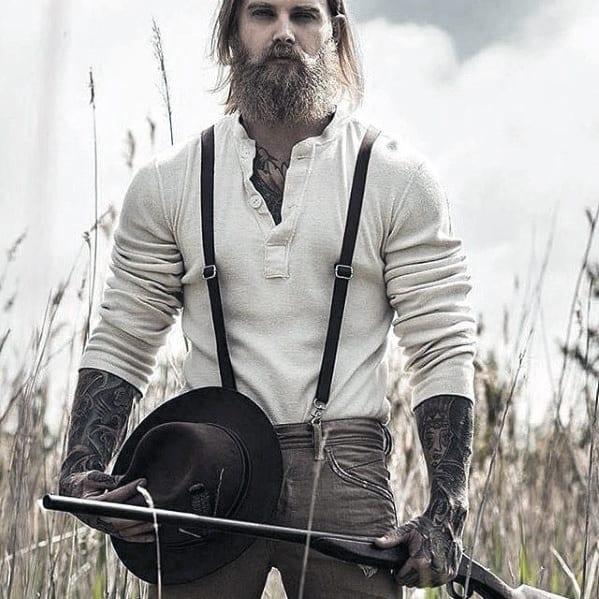 Masculine Manly Beard Inspiration Styles For Gentlemen