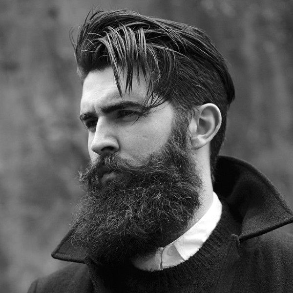 Masculine Male Beard Haircuts