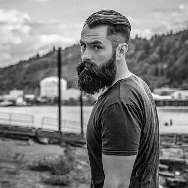 Masculine Mens High Fade Haircut