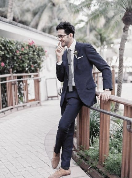 Masculine Navy Blue Suit Style Ideas For Men