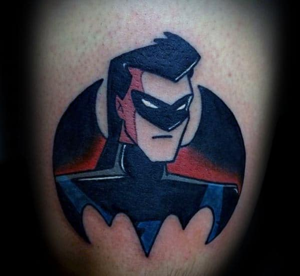 Masculine Nightwing Tattoos For Men