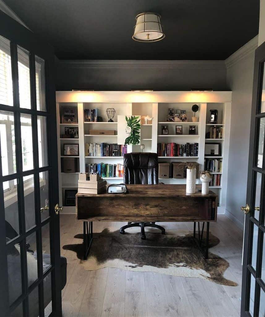 Masculine Office Decor Aubreeseaman