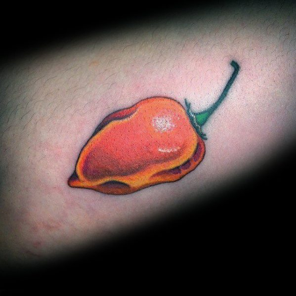 Masculine Pepper Tattoos For Men