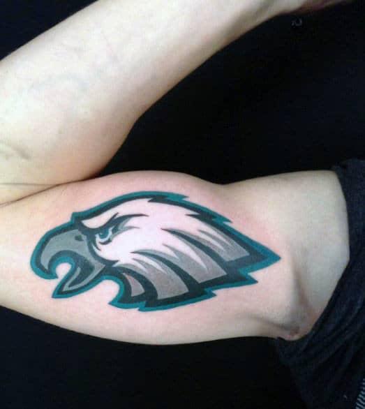Masculine Philiadephia Eagles Nfl Mens Arm Tattoos