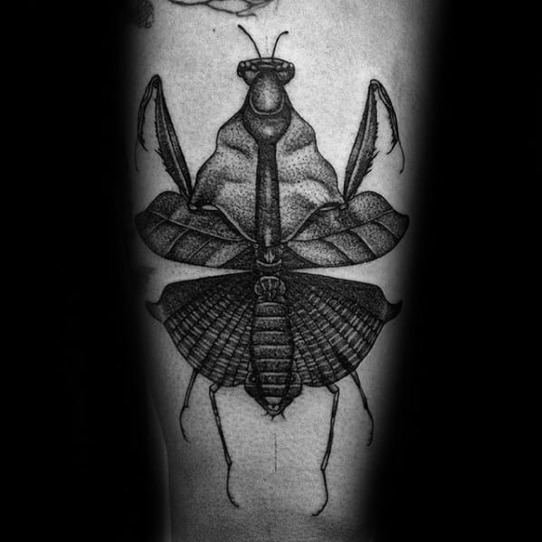 Masculine Praying Mantis Tattoos For Men