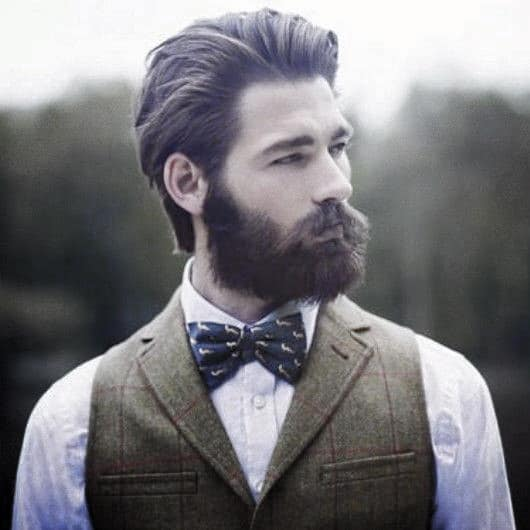 Masculine Professional Beard Inspiration Styles For Gentlemen